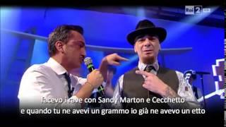 Battle-rap J-Ax Vs Nicola Savino - Quelli che il calcio 22/02/2015