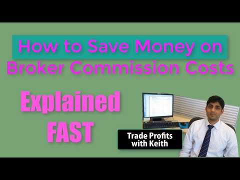 How To Save Money On Broker Commissions Bitcoin Trading EXPLAINED FAST