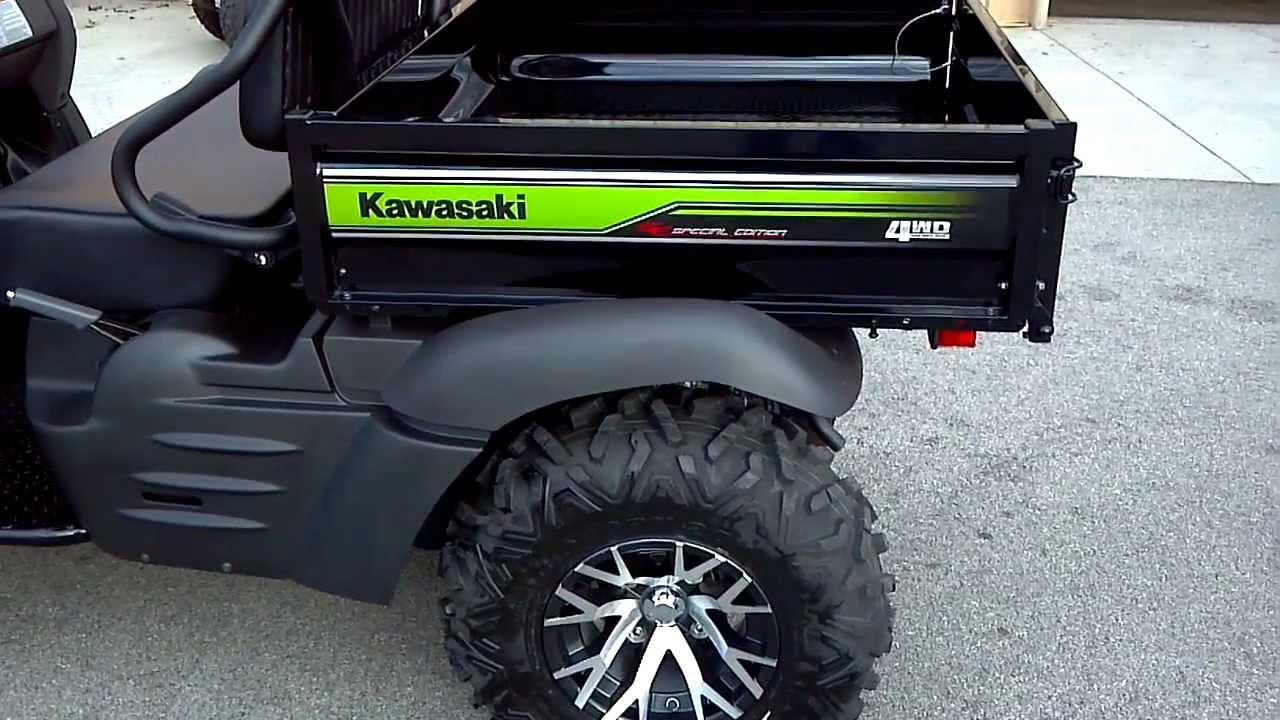 2014 kawasaki mule 610 xc in green @ alcoa good times - youtube