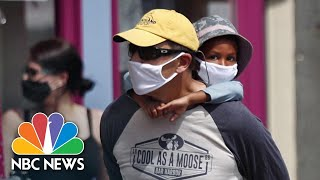 Report Says 500K Children Infected With COVID-19 In The U.S.   NBC News NOW