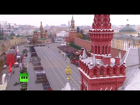 LIVE: Moscow re-enacts historic WWII parade on Red Square