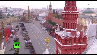 Moscow re-enacts historic WWII parade on Red Square  (Streamed live)