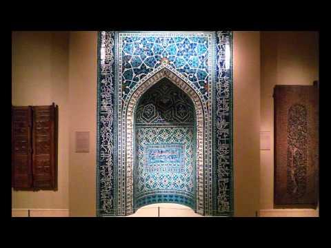 Ilkhanid Mihrab, 1354-55, Isfahan, Iran (Metropolitan Museum of Art, New York)