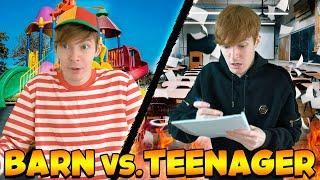 AT VÆRE BARN vs TEENAGER #4