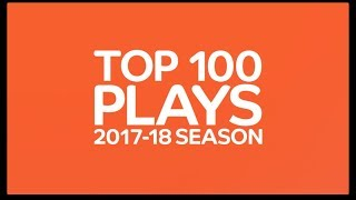 Top 100 Plays of the 2017-18 Turkish Airlines EuroLeague