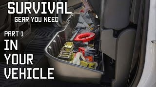 Survival Gear you should Keep in your vehicle |  Part 1 | Tactical Rifleman