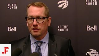 RAPTORS VS PELICANS POST GAME | NICK NURSE | NBA SOUND | 03.08.2019