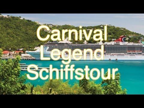 Carnival Legend - Schiffstour und Rundgang
