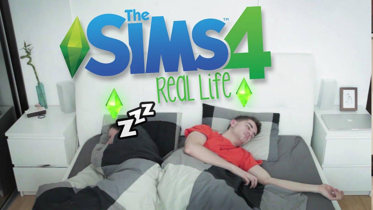 cd989c3fc YouTuber GoGo si vyskúšal život podľa hry Sims 4! Sleduj, ako to dopadlo :-D