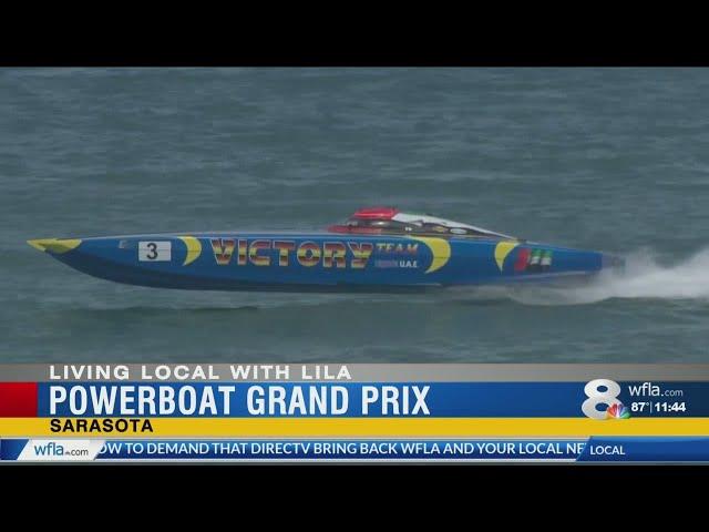 Race into weekend fun at Sarasota Powerboat Grand Prix