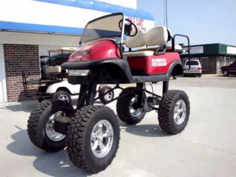 how to make a golf cart 4x4