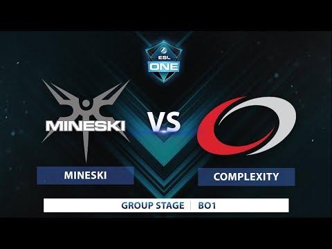 Mineski vs Complexity | Game 1 | ESL One Katowice 2018
