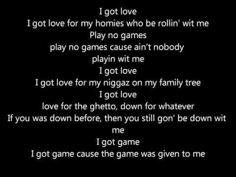 Nate Dogg - I Got Love (with lyrics)