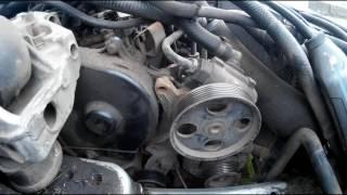 Peugeot 406. Замена ремня генератора