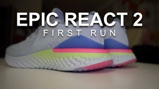 Epic React Flyknit 2 - First Run. (Should I get this or sale inventory of v1?)