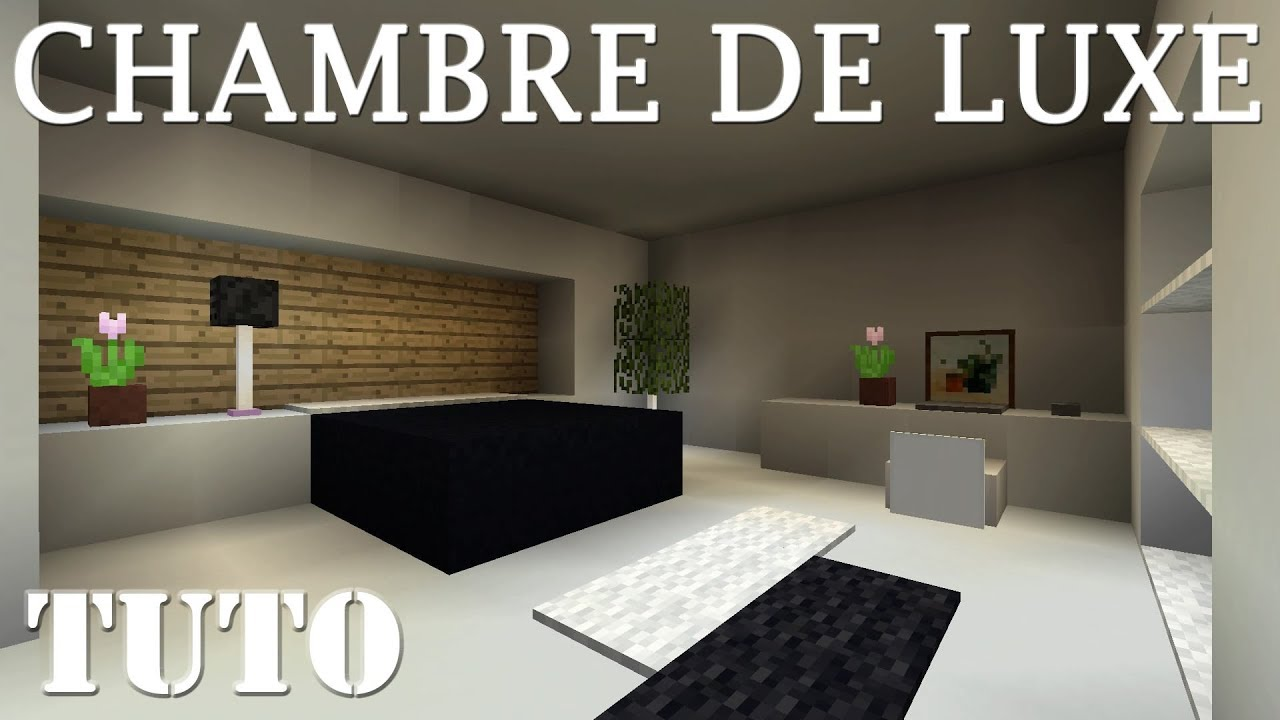 Chambre Minecraft Luxe