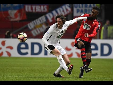Coupe de France : les buts de Rennes - Paris SG (0-4)