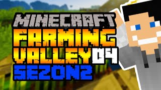 Poszukiwanie węgla i nowa wioska #4 Minecraft: Farming Valley  Modpack Sezon 2