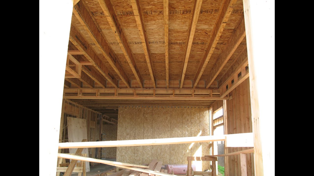 Structural Home Repairs How To Install Floor Joist Part