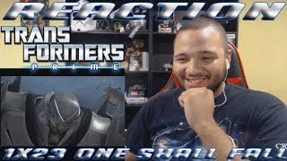 Transformers Prime: Season 1 Episode 23 - One Shall Fall - REACTION!!!