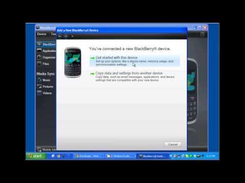 Installing SecureEmail applications using BBDesktop