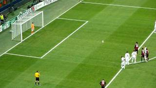 milan real madrid 1 1 ronaldinho penalty