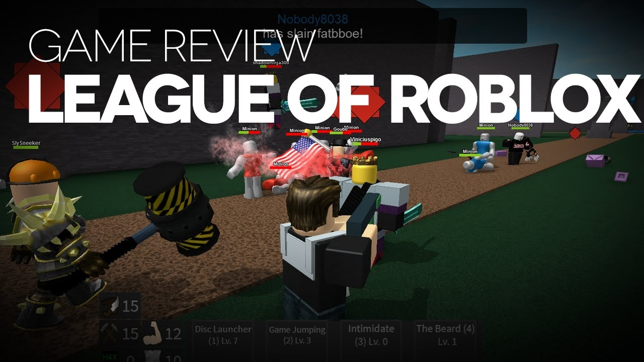 League Of Roblox Game Review Youtube