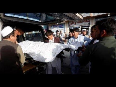 تفجير احتفال بالمولد النبوي في كابول افغانستان