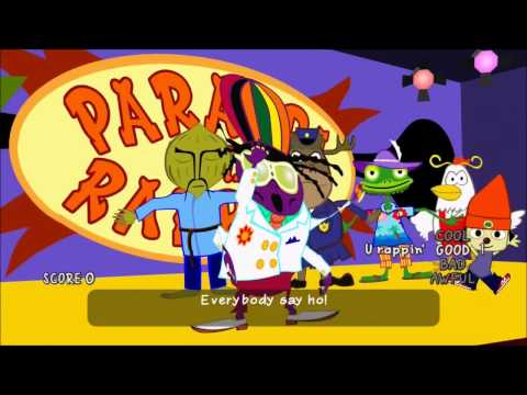Parappa the Rapper Remastered All Cool
