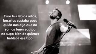 Pablo Alborán - Curo tus labios, Letra