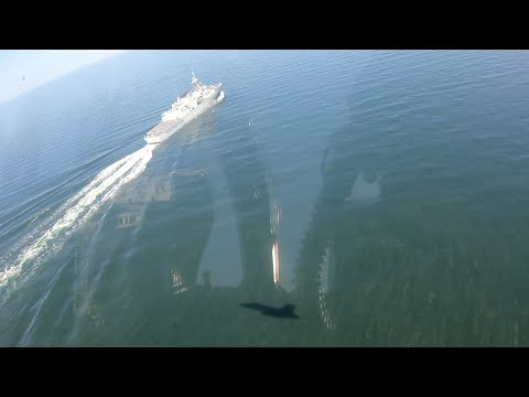 NATO boasts of its power in the Baltic Sea