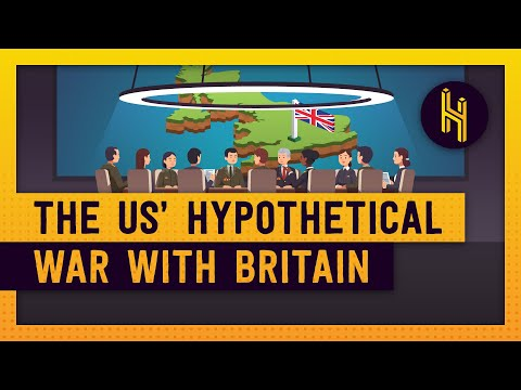 The US' Plan For A Hypothetical War With Britain