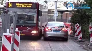 Ruzie op busbaan Assen