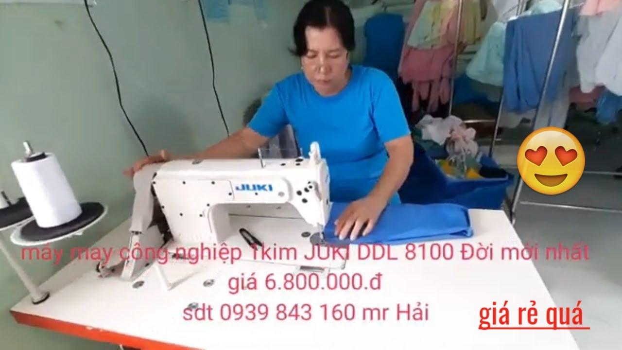 Máy May Công Nghiệp 1 Kim JUKI DDL 8100e Giá Rẻ tại TP-HCM Nhân Trà Vinh Vlogs