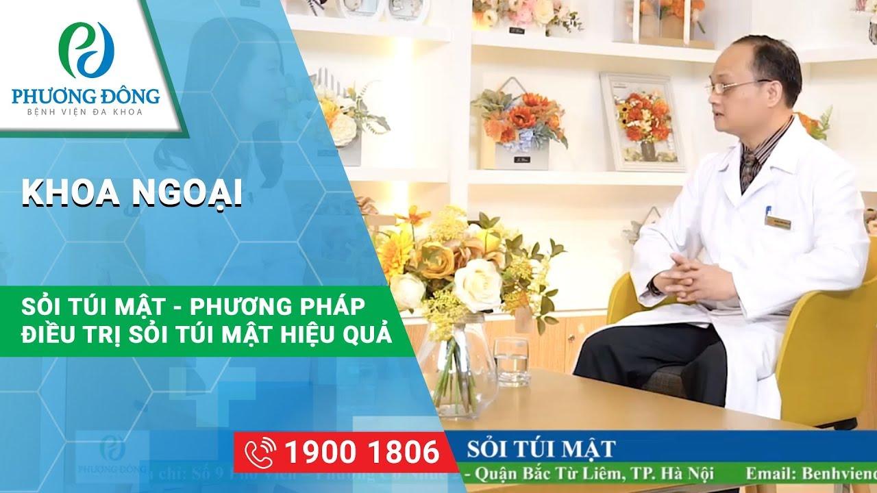 Cắt túi mật có ảnh hưởng đến sức khỏe || BS CKII Phạm Quang Hà || Bệnh viện Đa khoa Phương Đông
