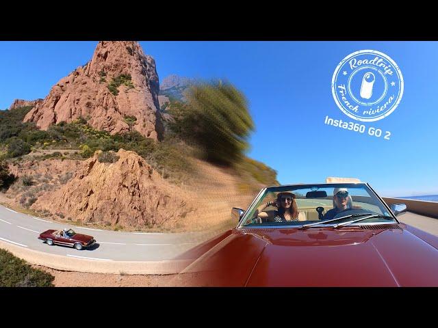 Classic car Roadtrip Côte d'Azur - Insta360 GO2