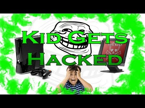 """Kid on Xbox Gets His Computer """"Hacked""""!"""