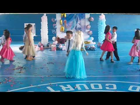 Frozen Theme Cotillion Dance