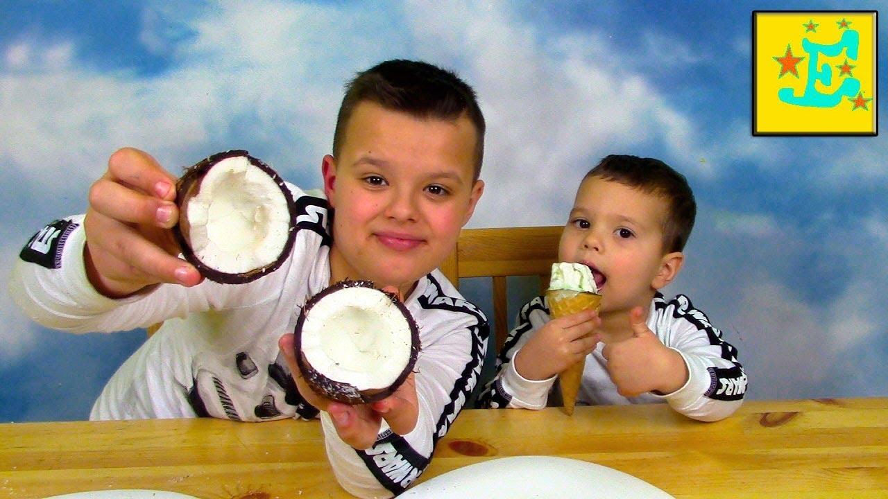 Челлендж Мороженое против Обычной еды или ICE CREAM vs REAL FOOD !!!