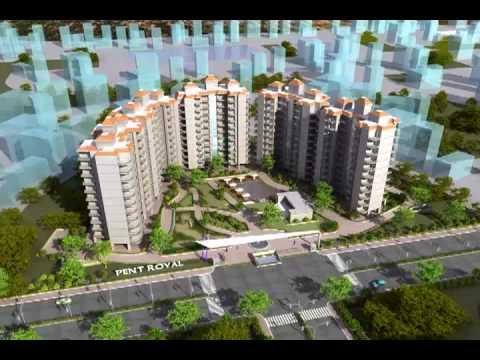 3d walkthrough of Pent Royal  (Housing Complex)