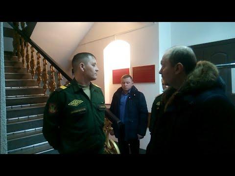Пермский Гарнизонный Военный Суд БЕСПРЕДЕЛ юриста Вадима Видякина не пустили в суд ч. 3