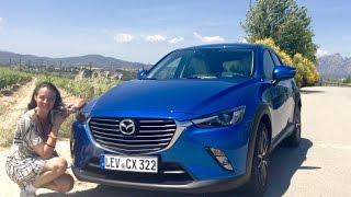 All-New 2016 Mazda CX-3 Test Drive