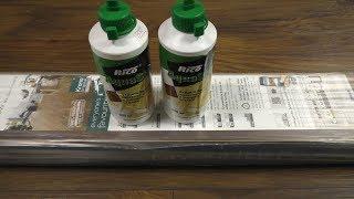 Воск для укладки ламината Rico AquaStop нанесение и обзор