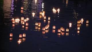 千鳥が淵の灯篭流し