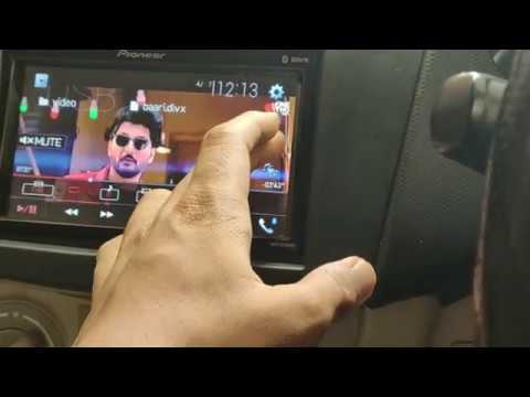 how to play video on pioneer stereos   what all video files are supported byy pioneer system