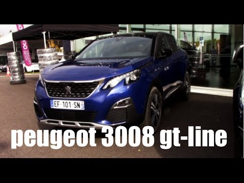 revue peugeot 3008 gt line 150ch fr youtube. Black Bedroom Furniture Sets. Home Design Ideas