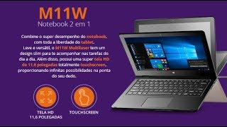 💻 Notebook Multilaser M11W - Review 💻