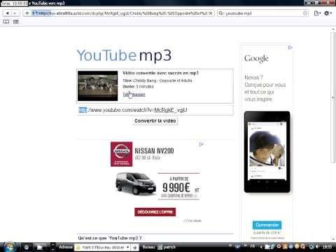 Convertir une musique au format MP3. [TUTO FR] - Frescy.