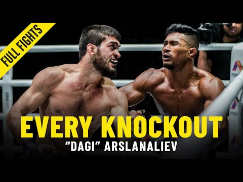 "Every ""Dagi"" Arslanaliev Knockout"
