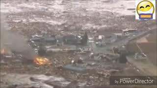 Cận cảnh thiên tai, sóng thần được camera quay lại.